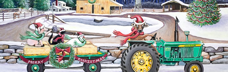 Christmas on the Farm – Christmas Cards